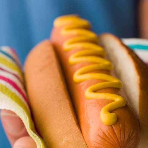 Nourriture answer: HOTDOG