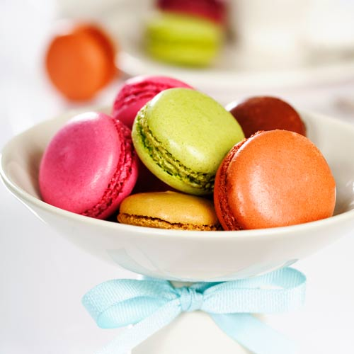 Nourriture answer: MACARONS
