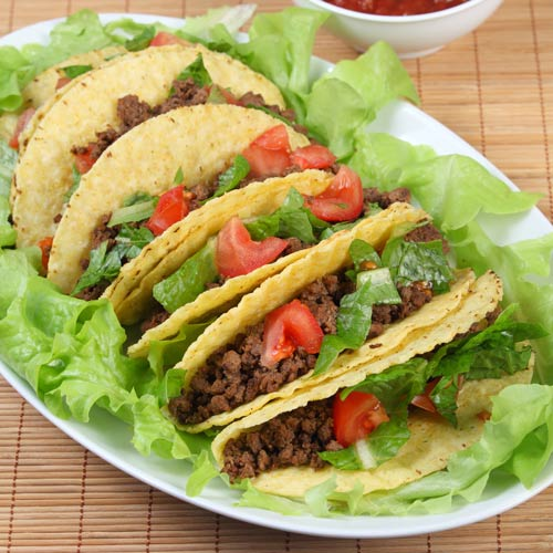 Nourriture answer: TACOS