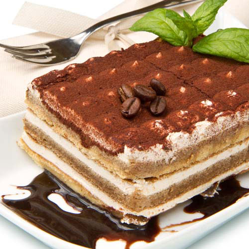 Nourriture answer: TIRAMISU