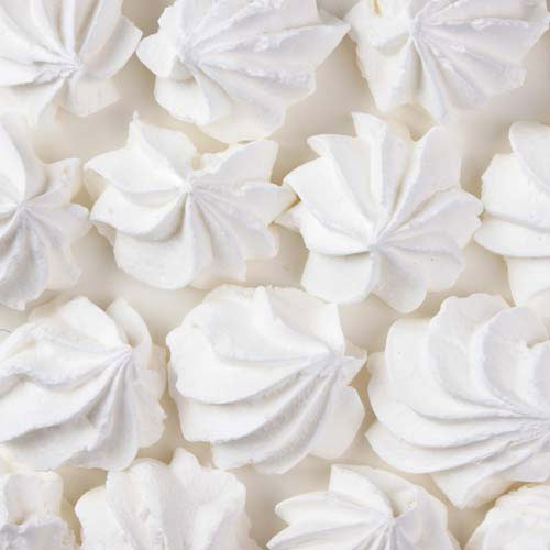 Nourriture answer: MERINGUES