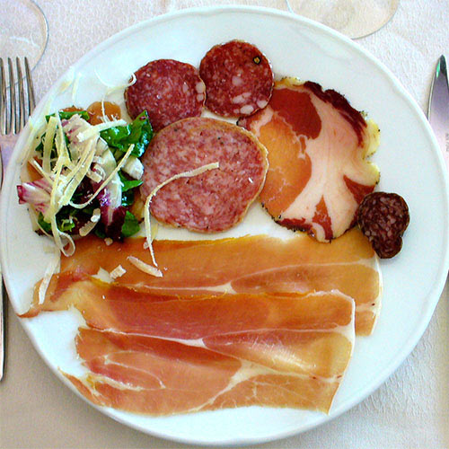 Nourriture answer: CHARCUTERIE