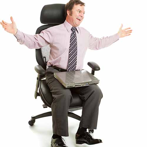 Office answer: SWIVEL CHAIR