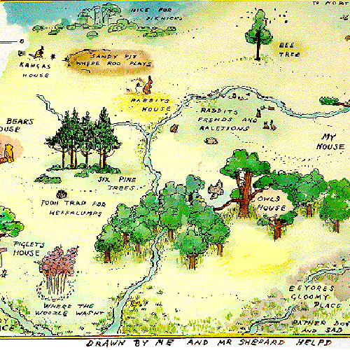 One-Something answer: 100 ACRE WOOD