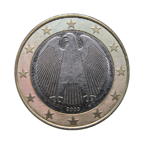 One-Something answer: ONE EURO
