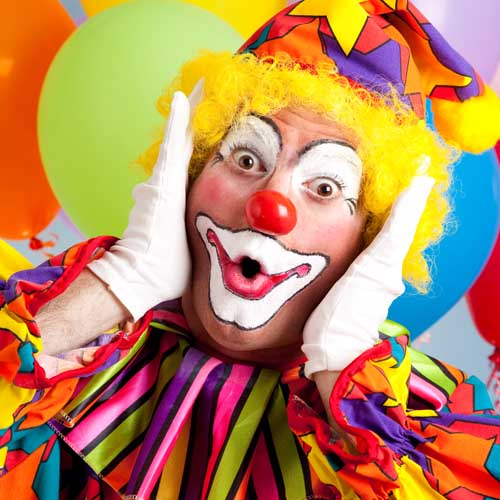 Party answer: CLOWN