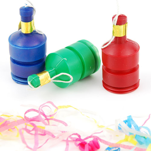 Party answer: PARTY POPPERS