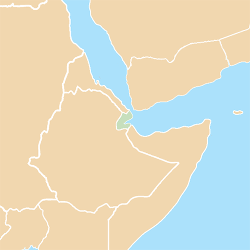 Pays answer: DJIBOUTI
