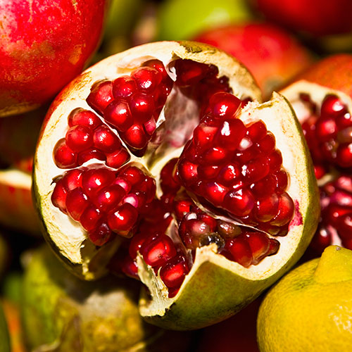 P is for... answer: POMEGRANATE