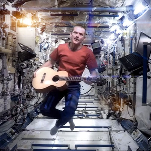 Quiz 2013 answer: CHRIS HADFIELD