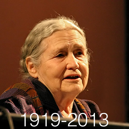 Quiz 2013 answer: DORIS LESSING