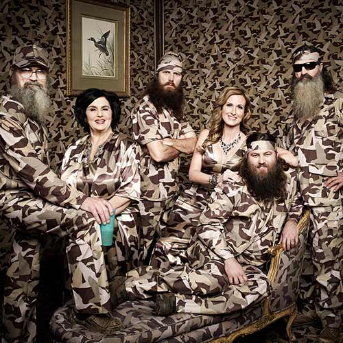 Quiz 2013 answer: DUCK DYNASTY