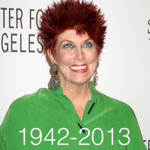 Quiz 2013 answer: MARCIA WALLACE