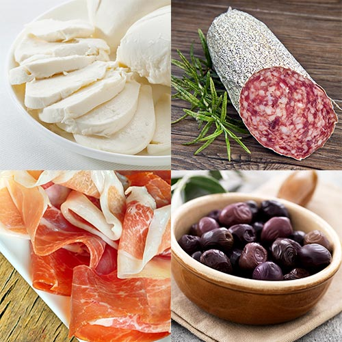Recettes answer: ANTIPASTI