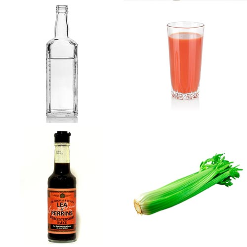 Recettes answer: BLOODY MARY