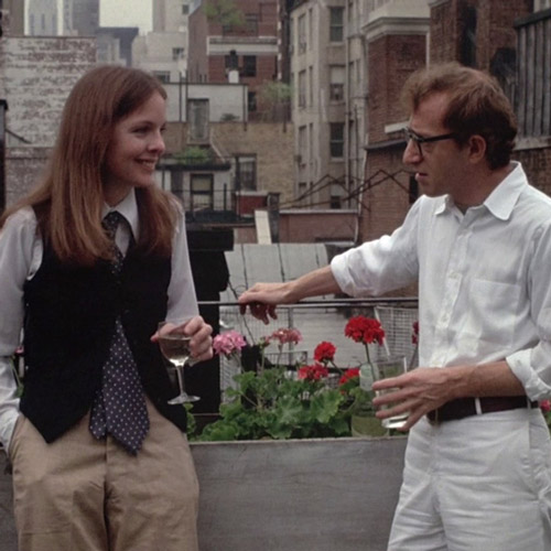 Rom-Coms answer: ANNIE HALL