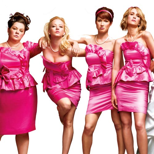 Rom-Coms answer: BRIDESMAIDS