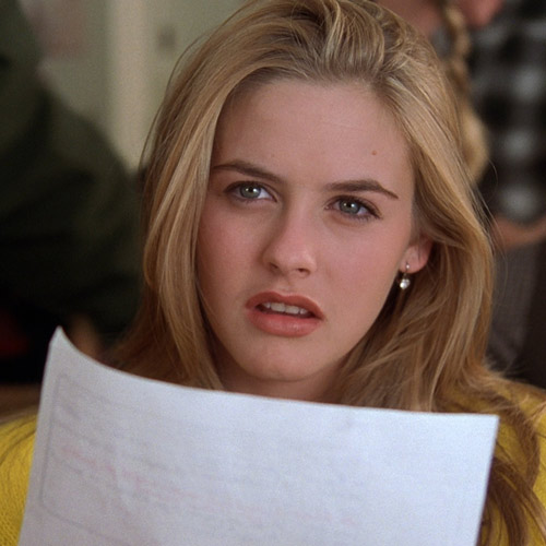 Rom-Coms answer: CLUELESS