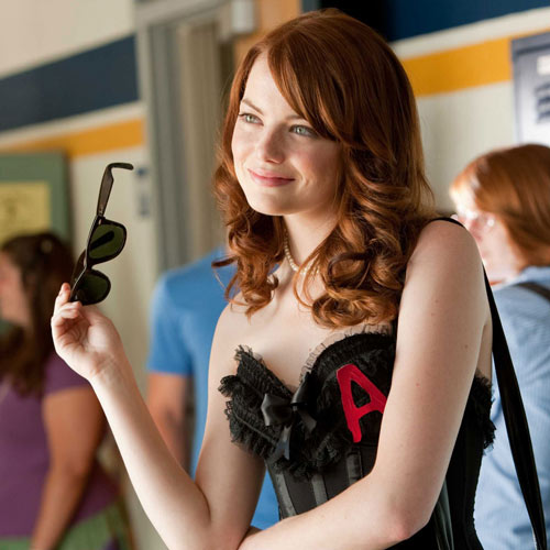 Rom-Coms answer: EASY A