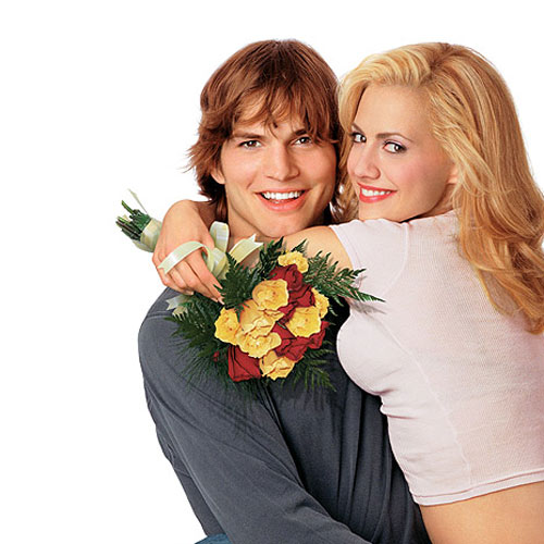Rom-Coms answer: JUST MARRIED