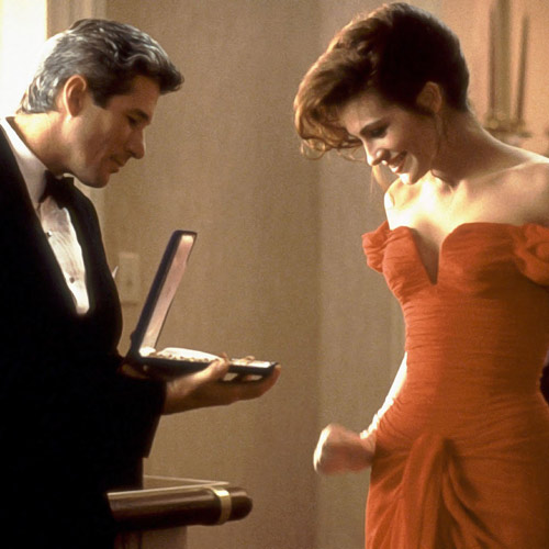 Rom-Coms answer: PRETTY WOMAN