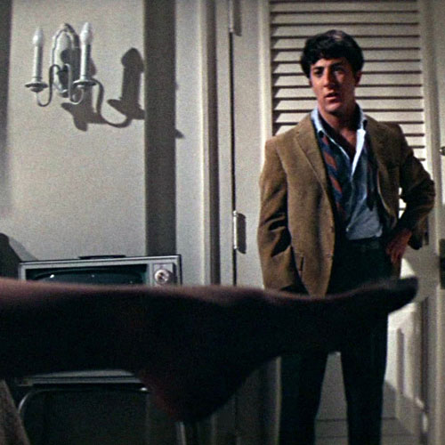 Rom-Coms answer: THE GRADUATE