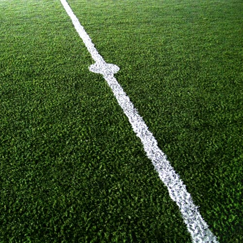 School answer: FOOTBALL PITCH