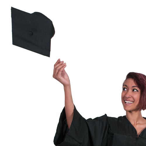 School answer: MORTARBOARD