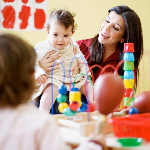 School answer: NURSERY