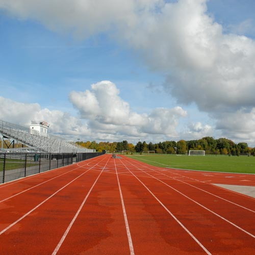 School answer: RUNNING TRACK
