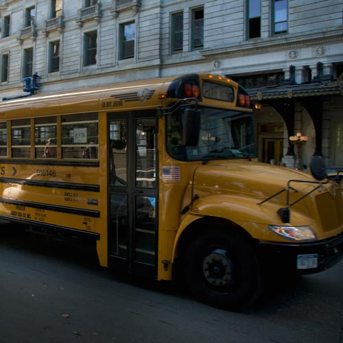 School answer: SCHOOL BUS