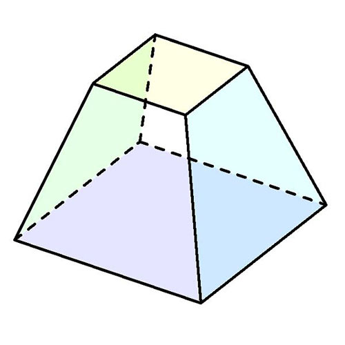 Shapes answer: FRUSTUM