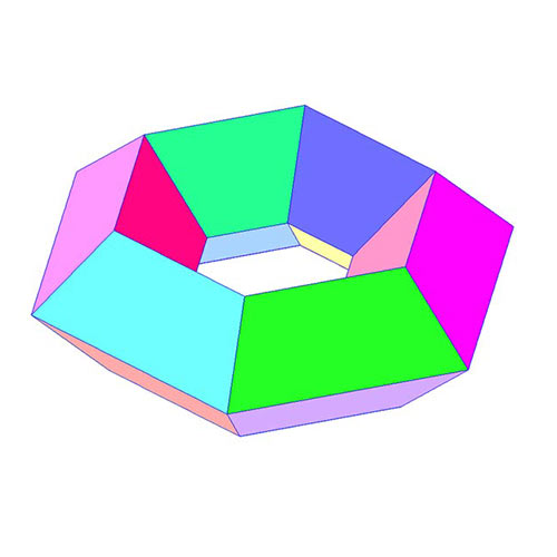 Shapes answer: HEXAGONAL TORUS