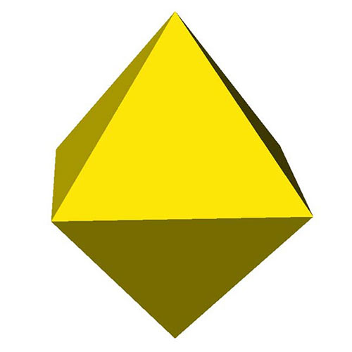 Shapes answer: OCTAHEDRON