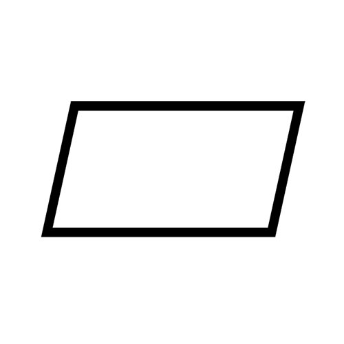 Shapes answer: PARALLELOGRAM