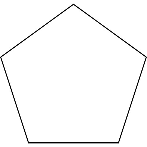 Shapes answer: PENTAGON