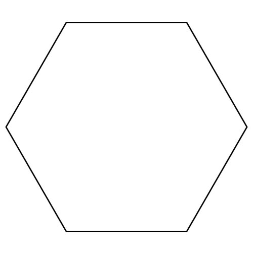 Shapes answer: HEXAGON