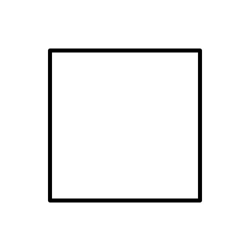 Shapes answer: SQUARE