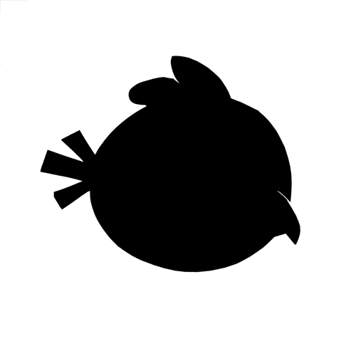 Silhouettes answer: ANGRY BIRD