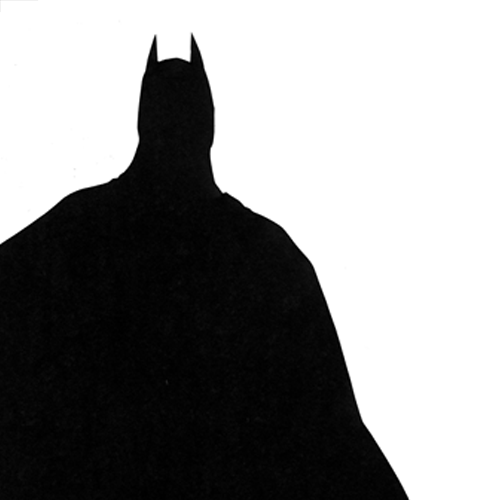 Silhouettes answer: BATMAN