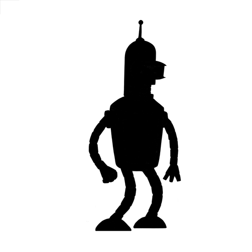 Silhouettes answer: BENDER