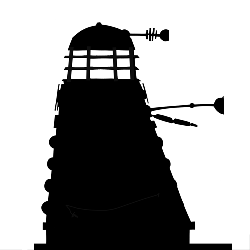 Silhouettes answer: DALEK
