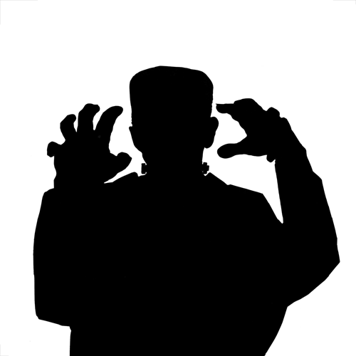 Silhouettes answer: FRANKENSTEIN