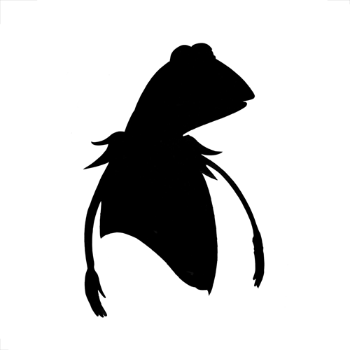 Silhouettes answer: KERMIT