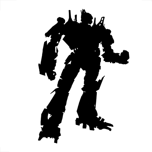 Silhouettes answer: OPTIMUS PRIME