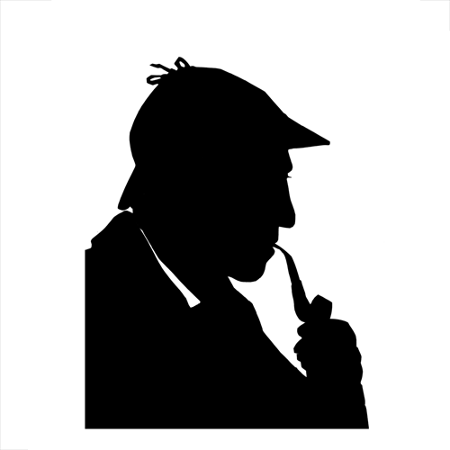 Silhouettes answer: SHERLOCK HOLMES