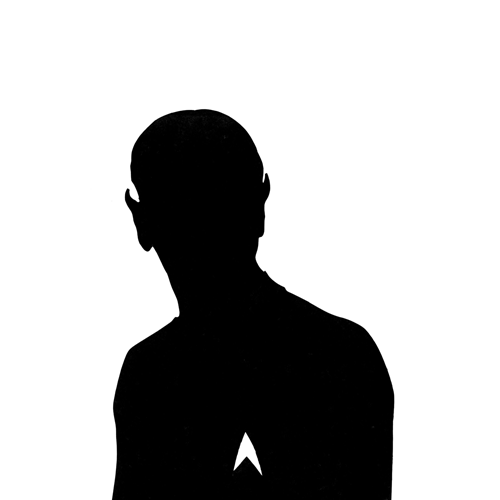 Silhouettes answer: SPOCK