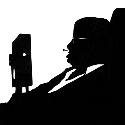 Silhouettes answer: STEPHEN HAWKING