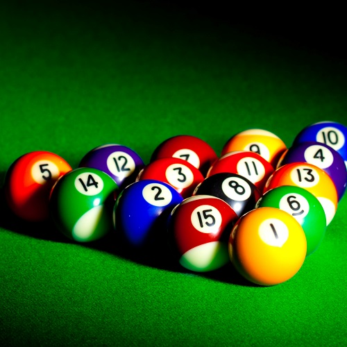 Sport answer: BILLARD