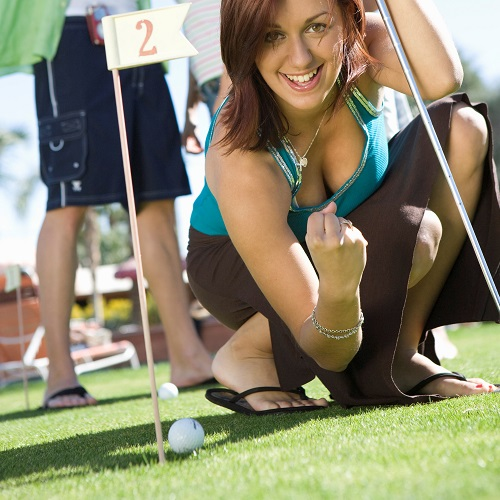 Sport answer: MINI GOLF